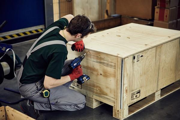 Fertigung von Holzverpackungen